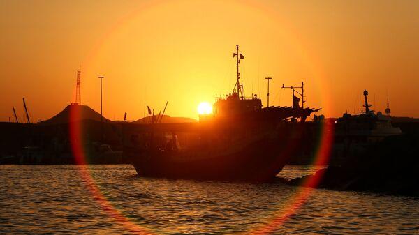 Порт в Шардже, ОАЭ