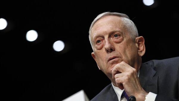Глава Пентагона Джеймс Мэттис. Архивное фото