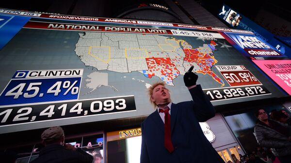 Предварительные итоги голосования на выборах президента США. Архивное фото