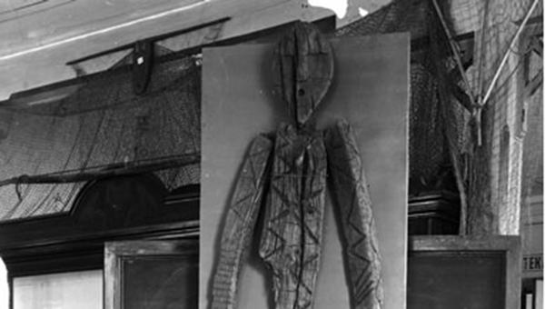 Статуя, найденная на Шигирском торфянике в конце 19 века