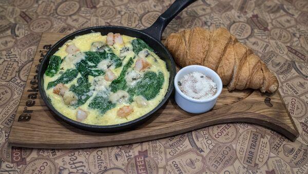 Континентальный завтрак Париж в ресторане Breakfasteria в Ростове-на-Дону