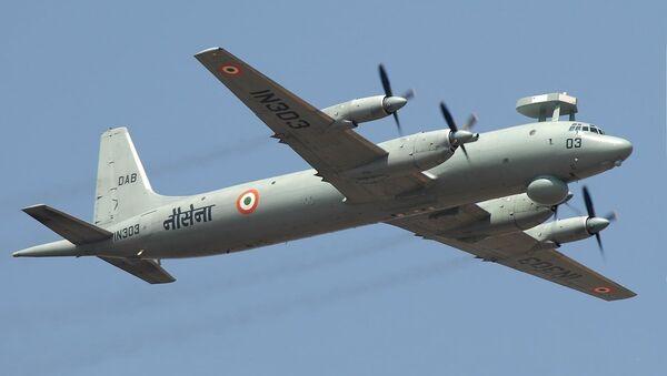 Самолет Ил-38SD ВМС Индии