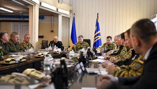 Президент Украины Петр Порошенко подписал указ о смене формата операции в Донбассе. 30 апреля 2018