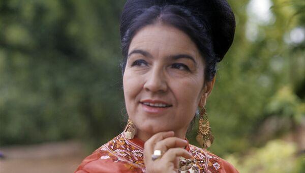 Народная артистка СССР, певица Майя Кулиева. Архивное фото