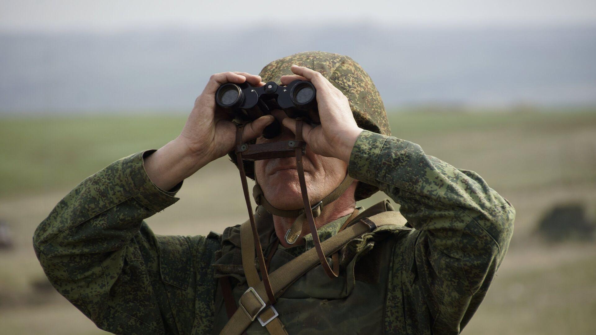 Военнослужащий Народной милиции ЛНР - РИА Новости, 1920, 31.07.2021
