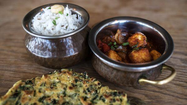 Блюда индийской кухни в Green Cafe в Ростове-на-Дону