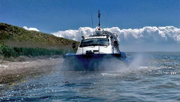Катер береговой охраны Пограничной службы ФСБ России по Республике Крым. Архивное фото