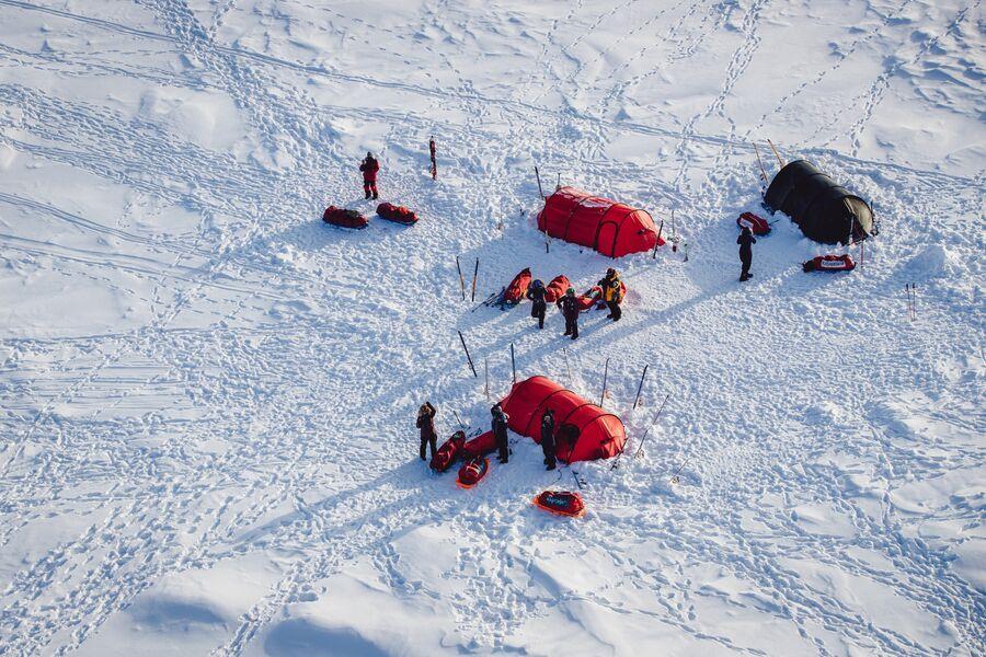 Евро-арабская женская экспедиция к Северному полюсу