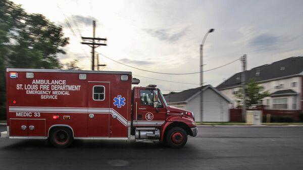 Машина службы скорой помощи в США
