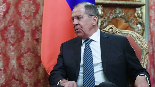 Исполняющий обязанности министра иностранных дел РФ Сергей Лавров. Архивное фото