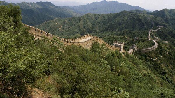 Участок Великой Китайской стены в районе Пекина