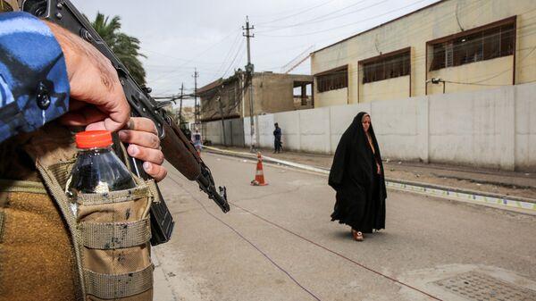 Сотрудник федеральной полиции Ирака
