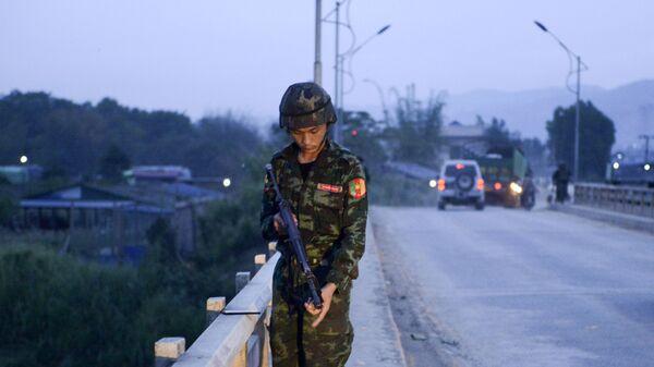 Полиция Мьянмы. Архивное фото