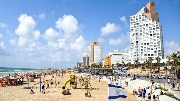 Набережная вдоль Средиземного моря в Тель-Авиве. Архивное фото