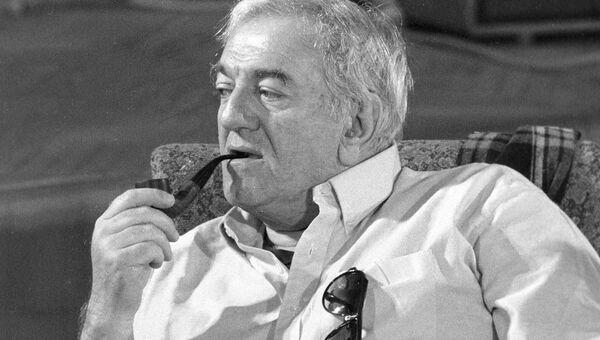 Режиссер и актер киностудии Грузия-фильм Баадур Цуладзе. Архивное фото