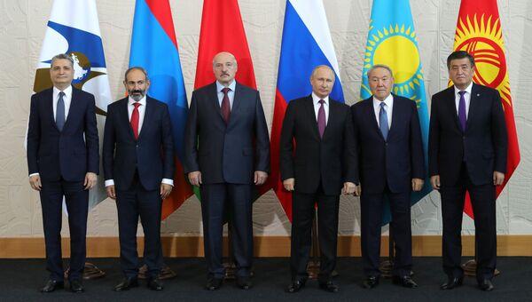Заседание Высшего Евразийского экономического совета в Сочи. 14 мая 2018