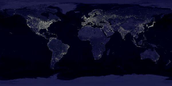 Карта из космоса