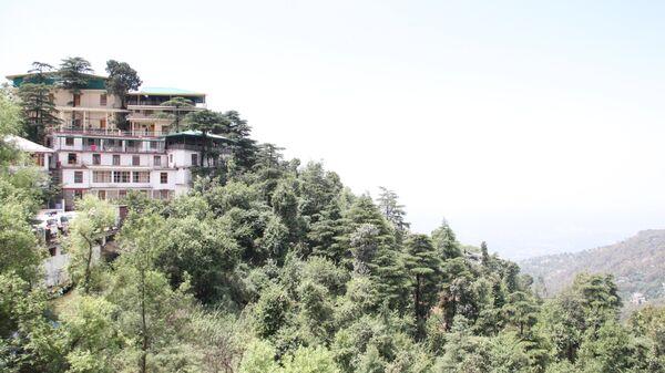 Монастырь Намгьял в Дхарамсале, где расположена резиденция Далай-ламы
