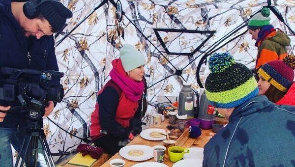 Блинная трапеза в туристическом центре Aina - Tour - Sakhalin