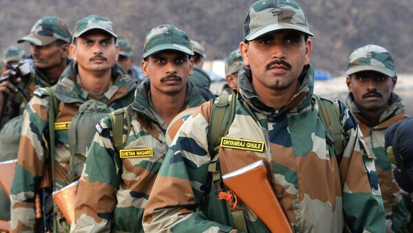 Военнослужащие Индии на международных российско-индийских учениях Индра. Архивное фото