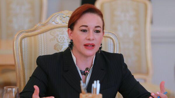 Председатель 73-й сессии Генеральной ассамблеи ООН Мария Фернанда Эспиноса Гарсес