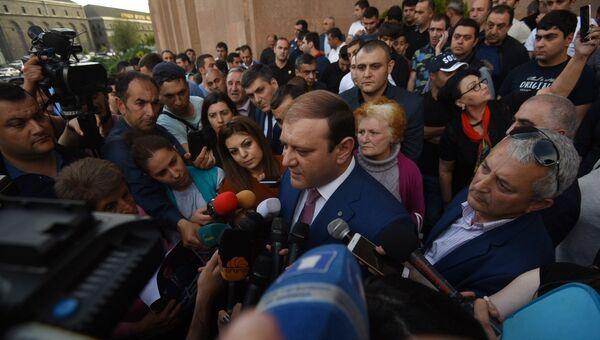 Мэр Еревана Тарон Маргарян. Архивное фото