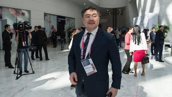 Министр национальной экономики Республики Казахстан Тимур Сулейменов на Астанинском экономическом форуме-2018. 18 мая 2018