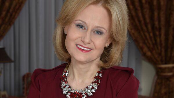 Российская писательница Дарья Донцова