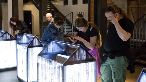 В Музее истории ГУЛАГа в последний раз можно было увидеть выставку из 100 объектов, связанных с личными историями жертв репрессий