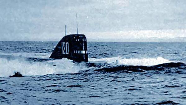 Атомная подводная лодка К-27