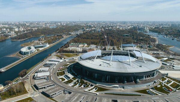 Стадион Санкт-Петербург, где пройдут матчи чемпионата мира по футболу 2018