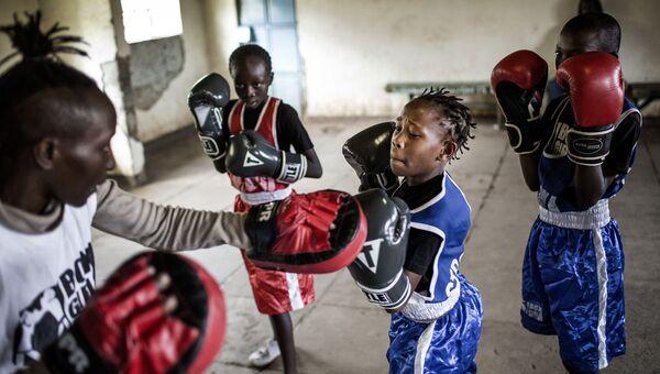 Луис Тато. Школа бокса для девочек в Кении
