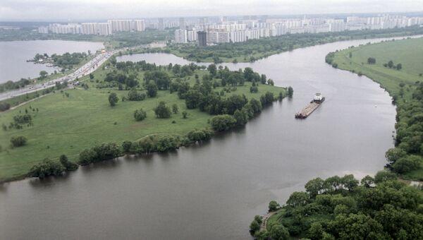 Вид на Москву-реку. Архивное фото