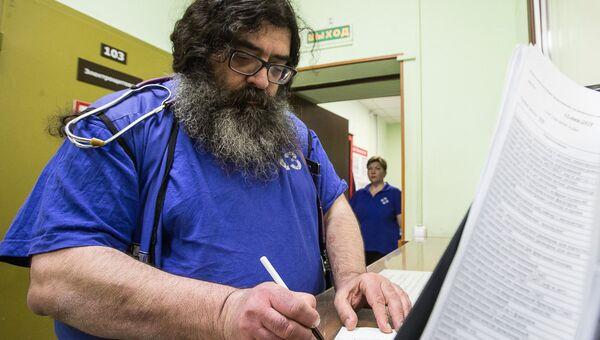 Врач первой подстанции московской скорой помощи, монах-реаниматолог иеромонах Феодорит (Сеньчуков)