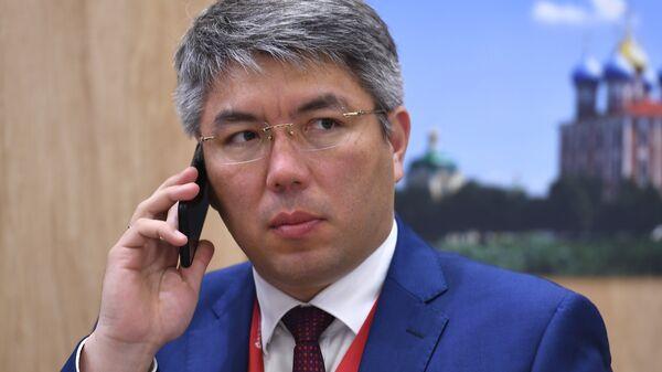 Глава Республики Бурятия Алексей Цыденов на Петербургском международном экономическом форуме