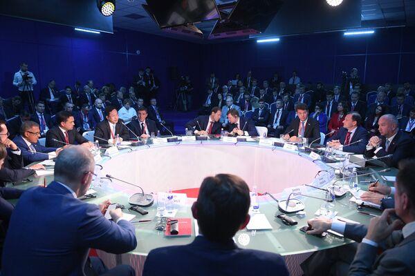 Петербургский международный экономический форум. 24 мая 2018