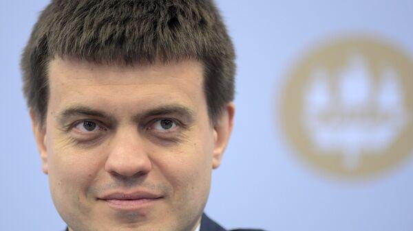 Министр науки и высшего образования РФ Михаил Котюков на Петербургском международном экономическом форуме. 24 мая 2018