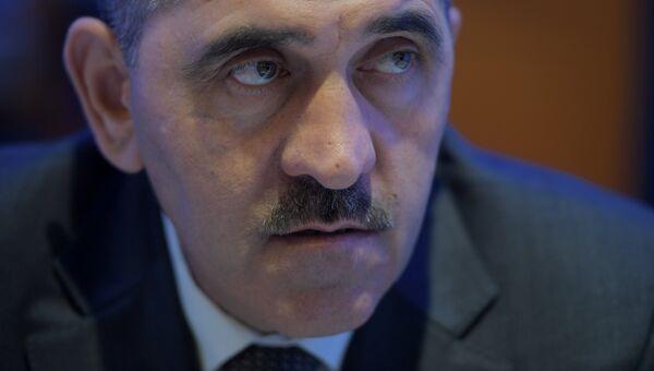 Глава Ингушетии Юнус-Бек Евкуров . Архивное фото