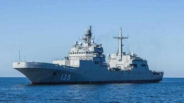 Большой десантный корабль Петр Моргунов. Архивное фото