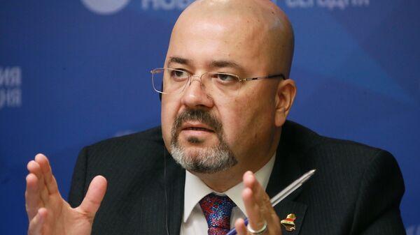 Посол Ирака в России Хайдар Мансур Хади