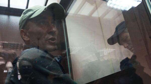 Игорь Подпорин, обвиняемый в умышленном повреждении картины Ильи Репина Иван Грозный и сын его Иван