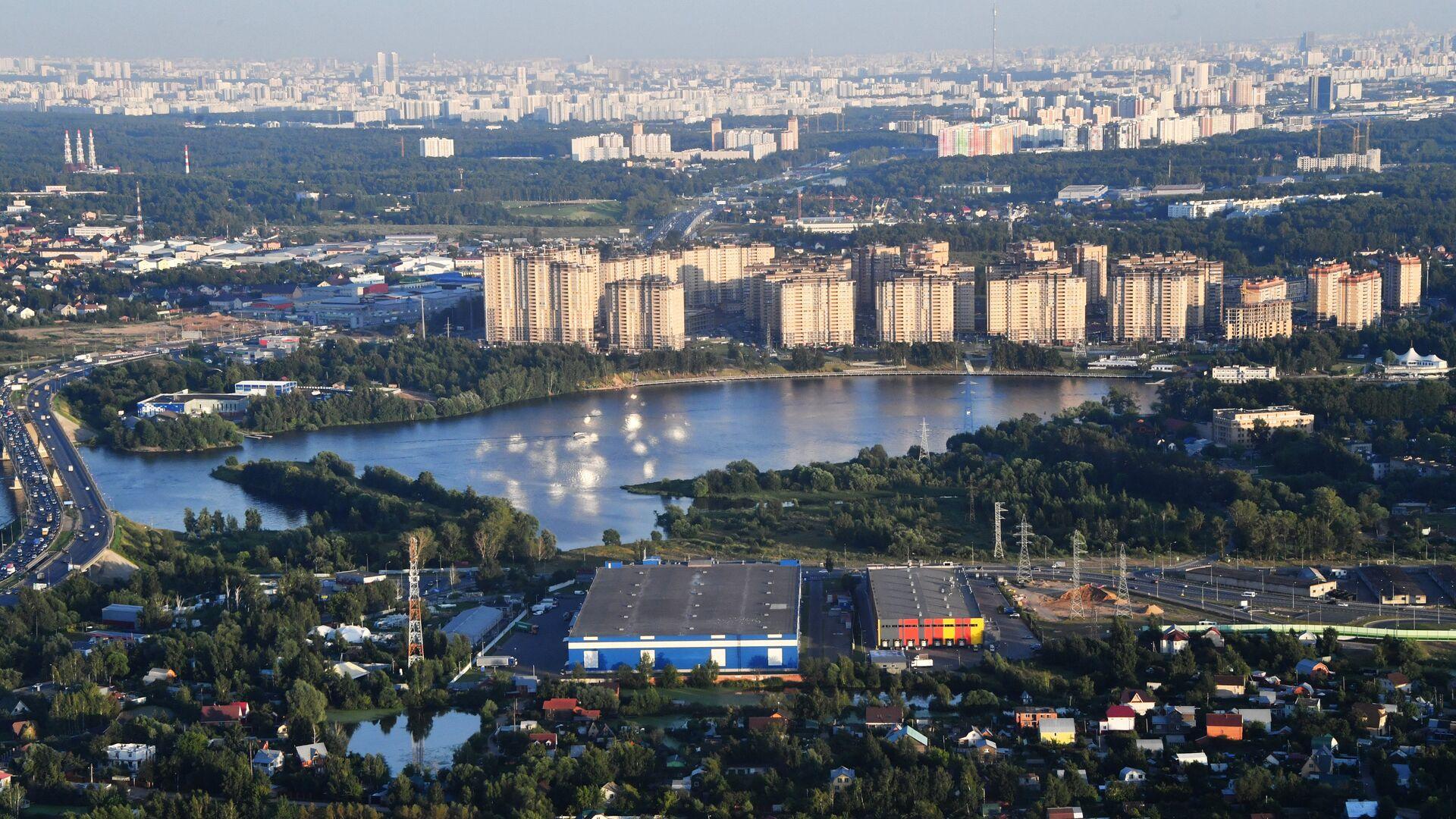 Застройка в районе канала имени Москвы - РИА Новости, 1920, 22.07.2021