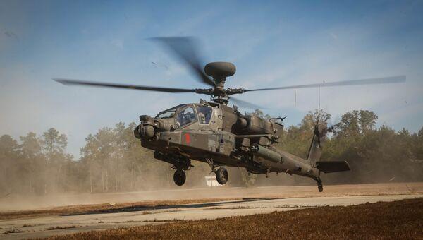 Вертолет AH-64D Apache Longbow Block III