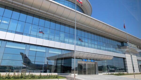Аэропорт в Пхеньяне. Архивное фото
