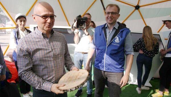 Сергей Кириенко стал почетным гостем Экодемии