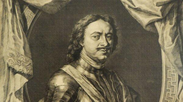 Портрет Петр I (Яков Хоубракен, 1718 г.)