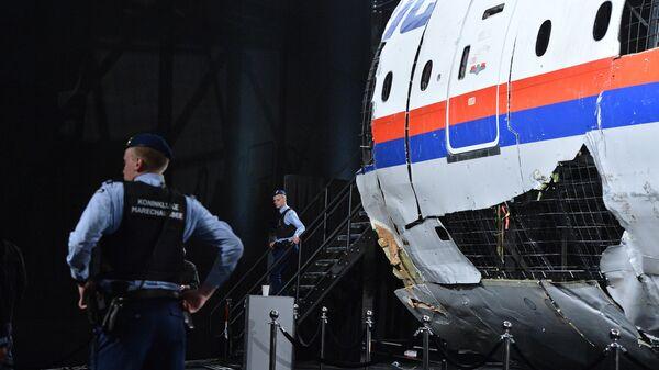 Представление доклада об обстоятельствах крушения лайнера Boeing 777 Malaysia Airlines (рейс MH17) на Востоке Украины 17 июля 2014