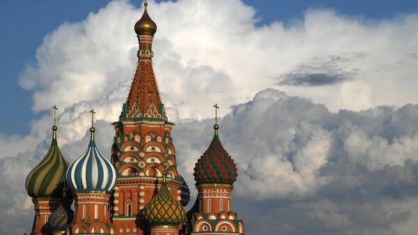Храм Василия Блаженного на Красной площади в Москве