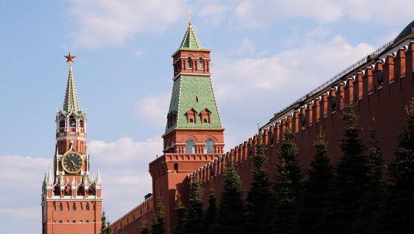 Спасская и Сенатская башни Московского Кремля