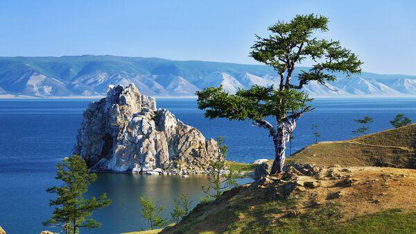 Дерево желаний на озере Байкал